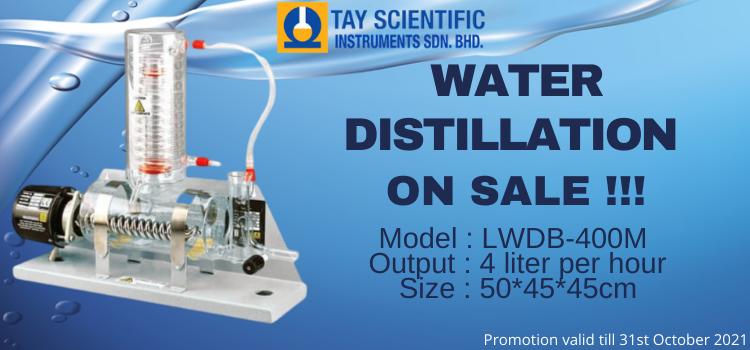 WATER DISTILLATION ON SALE !!!